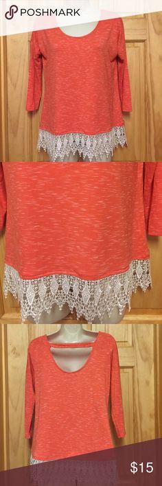 NWT Takara Orange T New with tags Takara Tops Tees - Long Sleeve