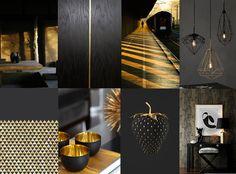 Japanese interior #gold #interior #colour #japan #minimalism