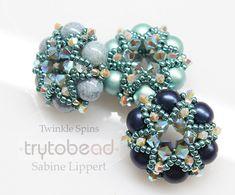 trytobead   Twinkle Spins, Pattern