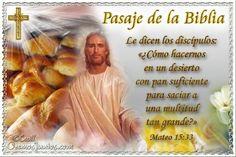Vidas Santas: Santo Evangelio según san Mateo 15:33