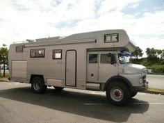 mercedes benz 710 4x4 camper