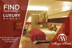 Find your perfect luxury moment with luxury accommodation :) Visit: Maya Hotel Chandigarh Call: 0172 468 8700 SCO 325-328, Himalaya Marg,  Sector 35B, Chandigarh. #Hotel #chandigarh #rooms #deals