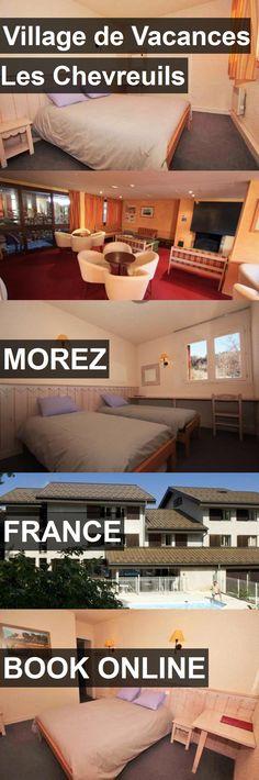Hotel Village de Vacances Les Chevreuils in Morez, France. For more information, photos, reviews and best prices please follow the link. #France #Morez #hotel #travel #vacation
