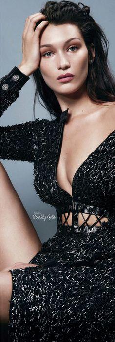 Bella Hadid Best Dresses Look - Nona Gaya Bella Hadid, Gigi Hadid, Black Magic Woman, Glamour, Queen, Editorial Fashion, Supermodels, Fashion Models, Celebs