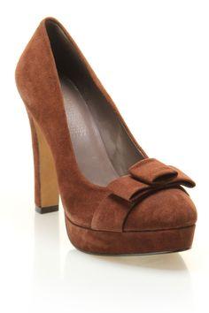 MRKT Shoe Claire Shoe In Dark Cigar