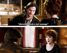 [gifset] 10x19 The Werther Project #SPN #Sam #Rowena