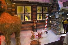 Rudolph The Red Nose Reindeer (Silver Spot) Tags: christmas australia nsw davidjones christmaswindows rudolphtherednosedreindeer file:name=200512dsc2008