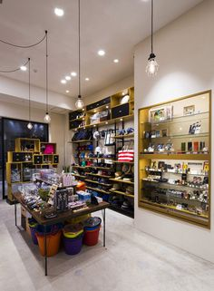 Collectors Store by icemoon, Fujimi City – Japan Retail Architecture, Architecture Design, Visual Merchandising, Cap Rack, Select Shop, Boutique Interior, Design Furniture, Store Design, The Collector