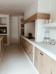 Kitchen Room Design, Kitchen Interior, Home Interior Design, Kitchen Decor, Concrete Kitchen, Cheap Home Decor, Home Kitchens, Kitchen Remodel, Sweet Home
