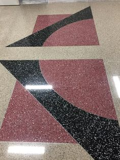 New North Shelby High School - terrazzo flooring