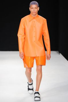 Christopher Shannon Spring 2014 Menswear Collection Slideshow on Style.com
