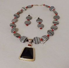 Womens African Tribal  Necklace and by HersheeUniquedesigns, $38.00