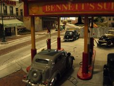Bennet's Gas station by Lance Russwurm. Photo by Greg Shinnie