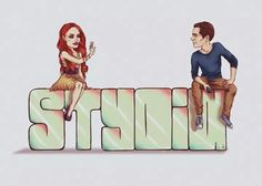 I can't decide what do I prefer: Stydia or Stalia, but this fanart is cute.