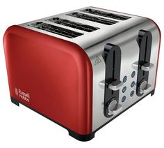 £22.99 Buy Russell Hobbs 22402 Westminster 4 Slice Toaster – Red at Argos.co.uk, visit Argos.co.uk to shop online for Toasters, Kitchen electricals, Home and garden