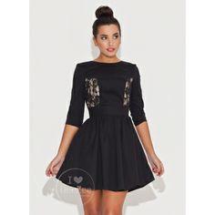Sukienka z Koronką Angel Black