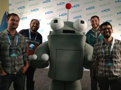 Everett, Mike, Roger, Tim and Rick at #mozcon