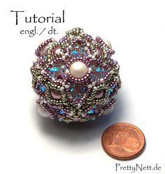 Perline sfera del reticolo  tutorial  Tutorial rimorchio