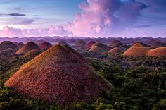 Chocolate Hills + Bohol Province, Philippines {Photo by Stefan Forster} Voyage Philippines, Bohol Philippines, Philippines Travel, Beautiful World, Beautiful Places, Amazing Places, Chocolate Hills, Girl Wallpaper, Laptop Wallpaper