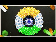 Republic Day Craft Ideas Easy/Wall Hanging/Independence Day Wreath/Paper Art and Craft/Paper Flower - YouTube Paper Art, Paper Crafts, Republic Day, Easy Wall, Wreath Crafts, Independence Day, Decorative Items, Paper Flowers, Arts And Crafts