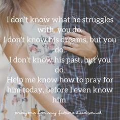 Wedding Quotes And Sayings Future Husband Prayer 68 Ideas For 2020 weddin. Wedding Quotes And Sayings Future Husband Prayer 68 Ideas For 2019 weddin. Prayer For Husband, Dear Future Husband, Future Husband Quotes, Prayers For Your Future Husband, Prayer For Boyfriend, Prayer For Love, Future Quotes, Future Boyfriend, Godly Dating