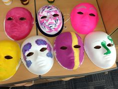 Self-Esteem lesson with video and mask-making