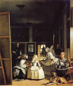 The series of Picasso paintings, Las Meninas,  consists of 58 works inspired by Velazquez's famous painting, Las Meninas.