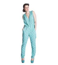 Blutsgeschwister Almost fashion suit turkos Suit Fashion, Jumpsuit, Suits, Dresses, Overalls, Vestidos, Playsuit, Jumpsuits, Suit