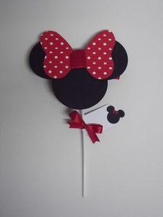 Convite de Aniversário da Minnie  Pode ser feito em oputros temas. R$4,25