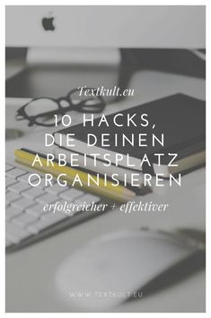 10 simple tips to keep your desk tidy! - Cult of text - Organize your workplace in a few seconds Desk Desk Tidy, Work Desk, Office Desk, Home Office, Craft Room Desk, Diy Desk, Desk Dresser Combo, Over The Desk, Life Hacks