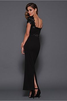 The long sister to the popular 'Natasha' LBD! Simply gorgeous!!