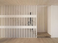 Staircase in Velux sunlighthouse by Juri Troy architects