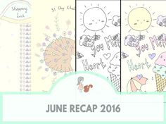 June Recap 2016 | www.sweetestchelle.com June, Map, Blog, Location Map, Maps