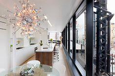 Sputnik Chandelier Design Ideas, Pictures, Remodel, and Decor Sputnik Chandelier, Chandelier Ceiling Lights, Chandelier Ideas, Kitchen Chandelier, Kitchen Lighting, Luxury Interior, Home Interior, Interior Photo, Deco Design