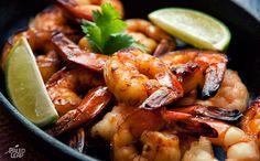 Sweet Lemon Shrimp - 45 min (shrimp, soy sauce/coconut aminos, honey, lemon juice, lemon, garlic, fish sauce, salt & pepper)