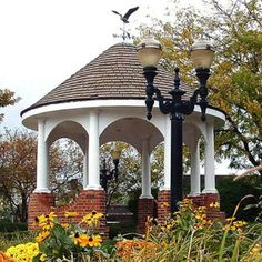 A gazebo is such a civilized way to enjoy the outdoors. They are also low maintenance and gazebo kits are easier to put together than you may think. Gazebo Pergola, Garden Gazebo, Lawn And Garden, Gazebo Ideas, Outdoor Rooms, Outdoor Living, Garden Structures, Outdoor Structures, Hartford House