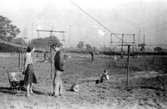 The predecessor to the famous Lovell telescope and on the same Jodrell Bank site, was the 218 foot Transit radio telescope which was constructed in 1947 and was essentially just a network of antennae and taught wires in a field.