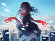 Find images and videos about art, anime and manga on We Heart It - the app to get lost in what you love. Sad Anime Girl, Kawaii Anime Girl, Anime Chibi, Anime Art, Ayano Tateyama, Little Misfortune, Kagerou Project, Cute Anime Pics, Anime Scenery