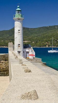 Propriano #Lighthouse - Corsica, #Italy - by Neil2302 - http://dennisharper.lnf.com/