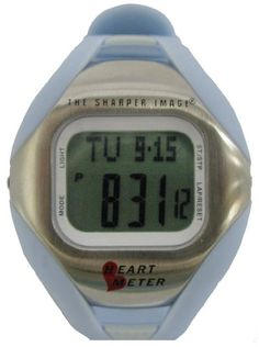 Sharper Image 08023 Womens Heart Rate Monitor Watch With Calorie Counter  Blue >>> For more information, visit image link.
