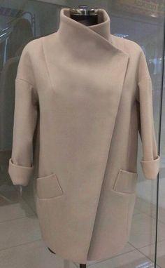 Выкройка пальто «конус» 42-52 фото1