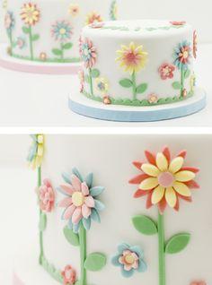 pastel flores primavera 2