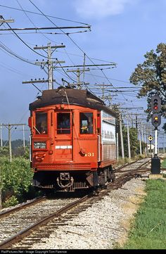 Net Photo: CA&E 431 Chicago Aurora & Elgin Electric Interurban at Union, Illinois by Tom Farence Street Run, S Bahn, Abandoned Amusement Parks, Train Pictures, Chicago Photos, Old Trains, Train Engines, Nyc Subway, Light Rail