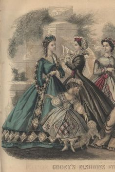 Godey's Lady's Book September 1864