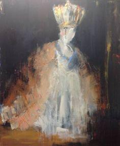 """Saatchi Art Artist Hennie van de Lande; Painting, """"Queen's like"""" #art"""