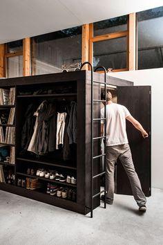 espaço para armazenagem container