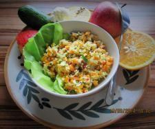 Herbst fit salat