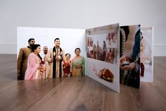 We were asked to design the Hindu wedding album of Ravi and Bhavna that captured the overall feel of the day. They had asked us to design what we call a…