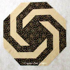Dogwood Lane Rambles: DWM/Spirals Table Topper