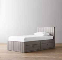 Haven 4-Drawer Bed | All Beds | Restoration Hardware Baby & Child only available in full!